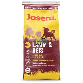Koeratoit Josera Lamb  Rice 15kg