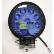 LED töötuli 27W 2700lm 9-60V  sinine valgus flood