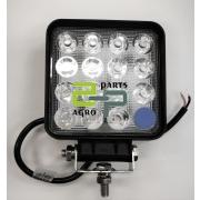 LED töötuli 16W 1600lm 10-30V IP69K sinine valgus spot