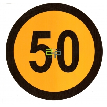 Kleebis 50km/h