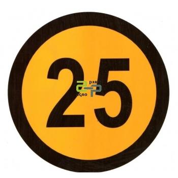 Kleebis 25 km/h