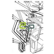 Esiklaas T-40  T25-6703021