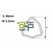 Kardaanitoru AB2/AB3 välis/sise 36.0x3.0