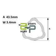 Kardaanitoru AB3/4 välis 43.5x3.4