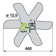 Randaali ääreketas Horsch 00310892 ¤460x6mm (3) vasak
